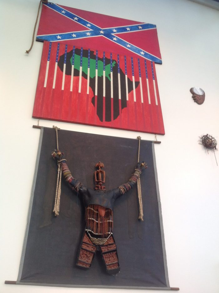 sculpture Scarecrow vue globale