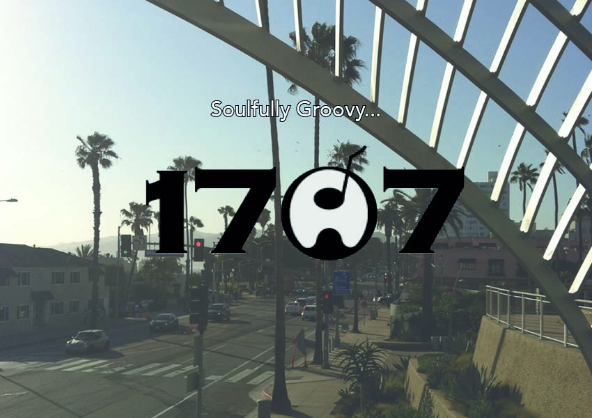 logo 17a7 sur photo de Santa Monica